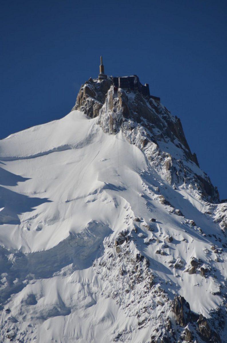 Ski area Chamonix
