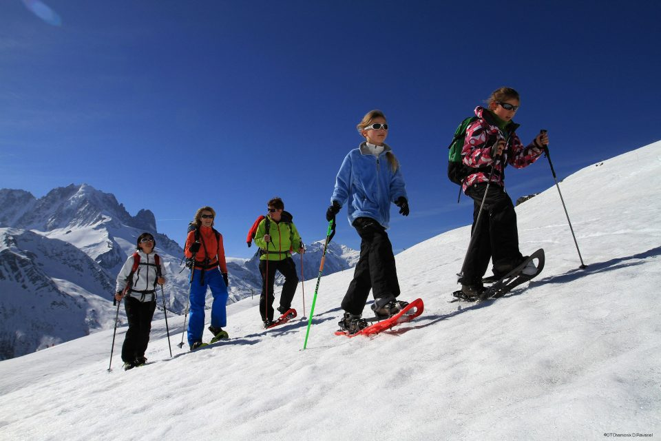 Station familiale dans les Alpes