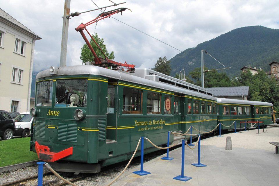 Tramway Mont Blanc Chamonix