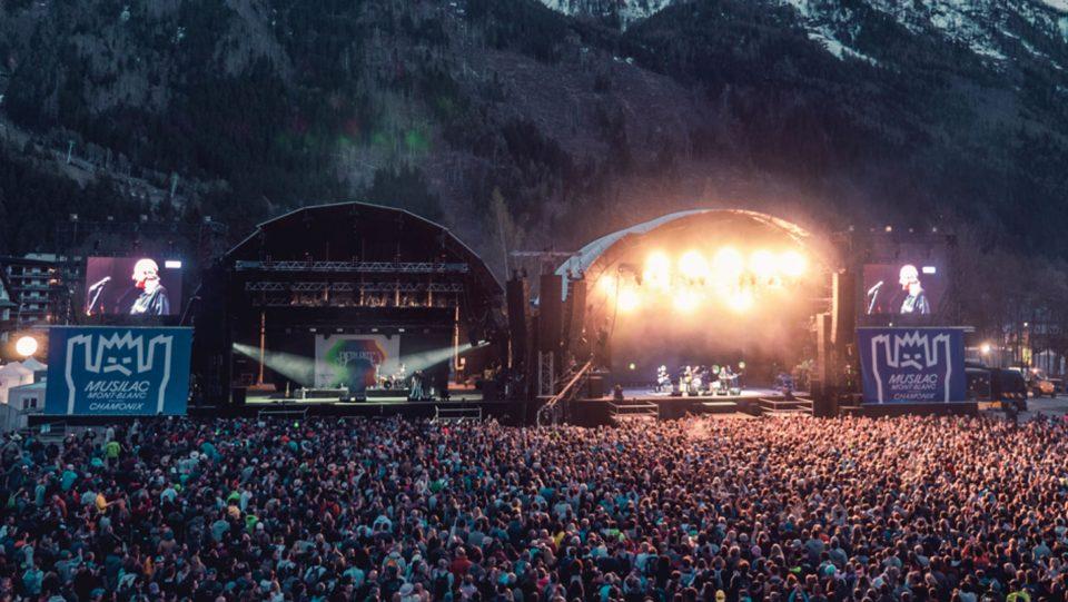 Festival Musilac Chamonix
