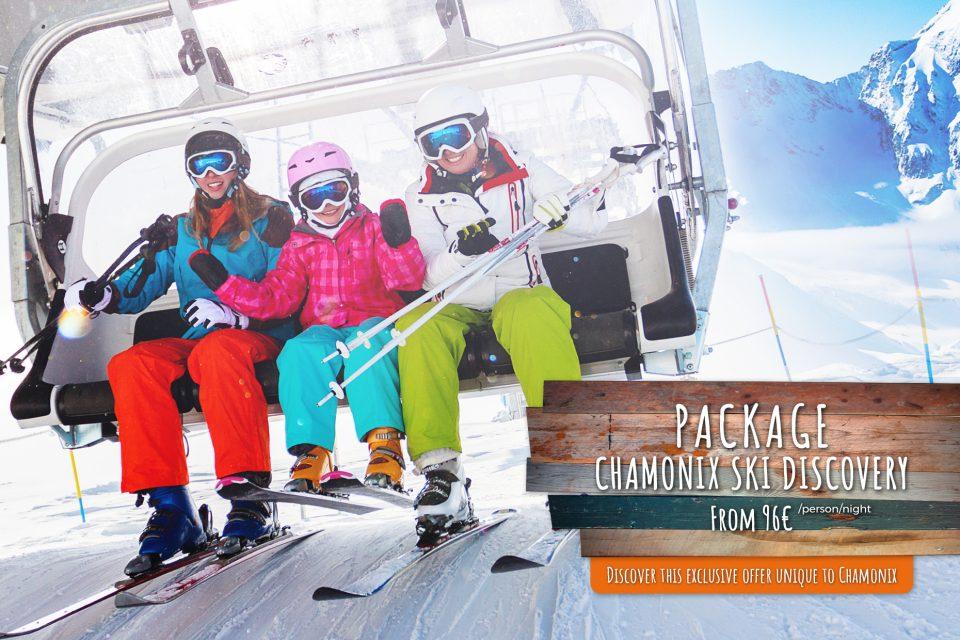 Ski special offer in Chamonix